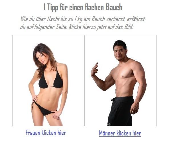 Flacher Bauch Tipp