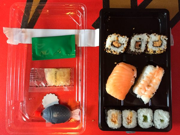 Aldi Sushi Shukoji Box