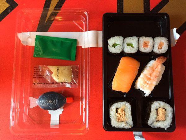 Aldi Sushi Sunakku Box