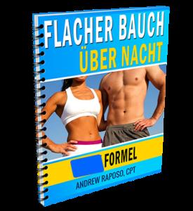 Flacher Bauch über Nacht System Andrew Raposo XXX-Formel