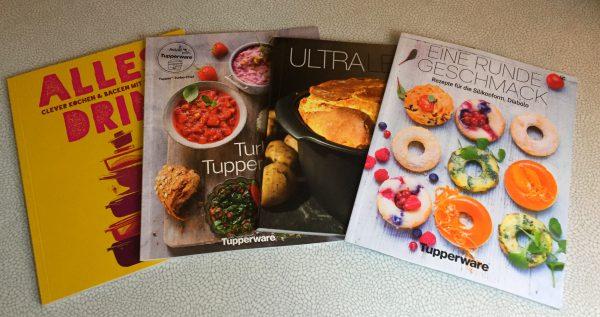 Tupper Kochbücher