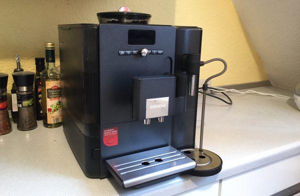Kaffeevollautomat Siemens EQ 7 test