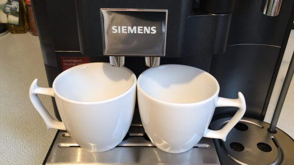 Kaffeevollautomat Siemens EQ 7 zwei Tassen