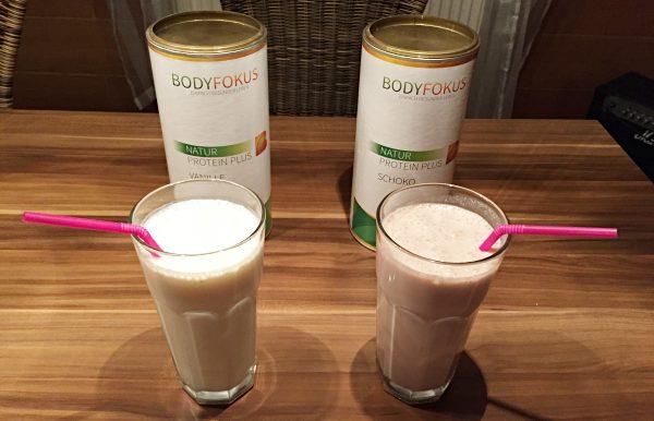 bodyfokus natur plus protein erfahrung geschmack schoko vanille